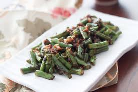 green beans fry recipe by archana u0027s kitchen simple recipes