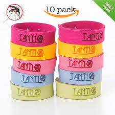 Patio Insect Repellent Amazon Com Mosquito Repellent Bracelet 10 Pack By Tantiq