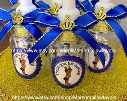 royal prince baby shower favors one royal blue prince baby shower centerpiece prince