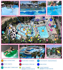 map with attractions park map attractions wave waterpark