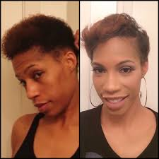 transition hairstyles when growing out natural hair tutorial growing out your mohawk youtube