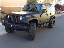 jeep matte grey plasti dip jeep wrangler plasti dip my ride