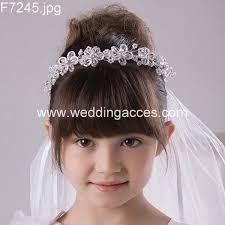communion headpiece 2015 bead and rhinestone crown headpiece with veil wedding