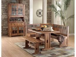 sunny designs dining room sedona breakfast nook set with side
