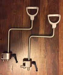 ob gyn stirrups for bed or massage table beds with stirrups