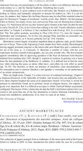 Edd Maps Ancient Marketplaces Chankowski V Karvonis P Edd Tout