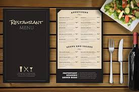 30 food u0026 drink menu templates articulos diseño grafico