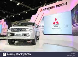 mitsubishi crossover 2014 bangkok november 28 mitsubishi all new triton car on display at