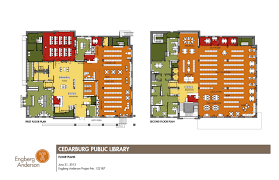floor plan cedarburg public library