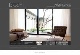architect website design website design