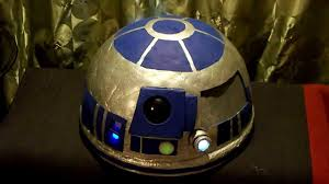 r2d2 halloween costumes star wars r2d2 helmet halloween costume youtube