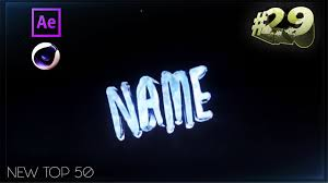 top 50 free intro templates 29 cinema 4d adobe after