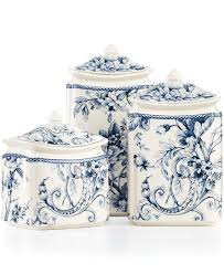 blue and white kitchen canisters canisters awesome nautical kitchen canisters canister sets amazon