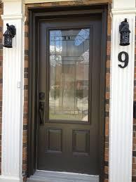 Exterior Doors Steel Brown Steel Exterior Door Exterior Doors Ideas