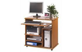 bureau ordinateur bois bureau informatique complet en bois merisier lyon
