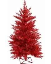 bargains on vickerman pink 3 foot artificial tree