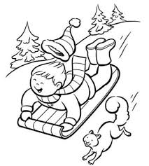 winter colouring pages vidopedia com
