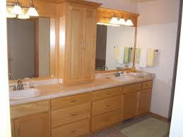 Bathroom Furniture Oak Interior Endearing Bathroom Designs With Solid Oak Bathroom