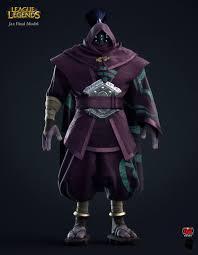 League Legends Halloween Costume Jax Human