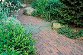 Patio And Walkway Designs by Brick Walkways And Patios Cording Landscape Design