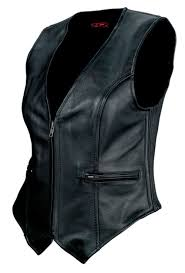 leather vest z1r leather vests for men and women motorcycle cruiser