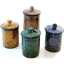 pottery canisters kitchen 19 pottery kitchen canisters stoneware canister set kitchen
