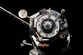 file iss 45 soyuz tma 16m spacecraft shortly after undocking jpg