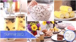 summer bbq recipes ideas youtube
