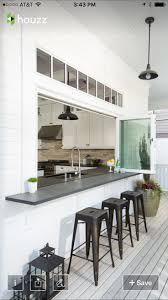 Turning A Galley Kitchen Into An Open Kitchen Best 25 Pass Through Kitchen Ideas On Pinterest Half Wall