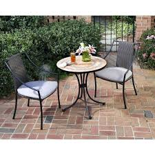 tile patio table set tile top patio table medium size of home styles piece bistro set