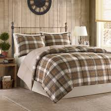 Down Alternative Comforter Twin Xl Lumberjack Softspun Down Alternative Comforter Set