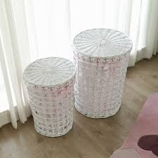 Round Laundry Hamper by Exclusive Today White Laundry Hamper U2014 Sierra Laundry