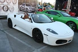 white f430 for sale white eurospec f430 spider 1 madwhips