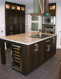 Center Island Kitchen by Wine Fridge In Center Island For The Home Pinterest Kitchens