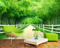 compare prices on bamboo murals online shopping buy low price beibehang custom wallpaper home decorative mural bamboo fence trail fresh 3d tv wall background 3d wallpaper papel de parede
