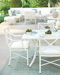 spring 2017 inspiration ballard designs how to decorate suzanne kasler s new white directoire outdoor furniture collection for ballard designs