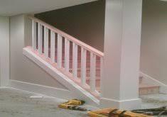 awesome basement stair handrail basement stairs railing diy home