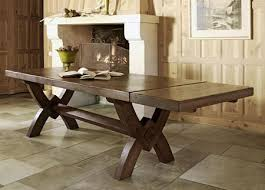 x leg dining table saint michel monastery dining table x leg from tannahill furniture ltd