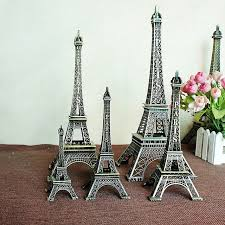 Eiffel Tower Garden Decor 10pcs Lot Home Decor Eiffel Tower Model Art Crafts Birthday Gifts