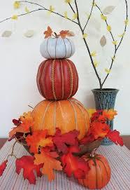 Thanksgiving Pumpkin Decorations How To Make A Stacked Pumpkin Decoration Hometalk