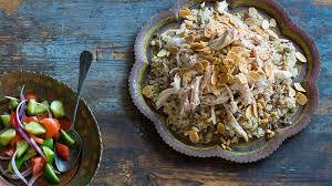 rice cuisine lebanese chicken and rice riz ala dajaj recipe sbs food