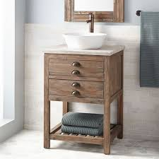 Brown Bathroom Cabinets by Best 25 Vessel Sink Vanity Ideas On Pinterest Small Vessel