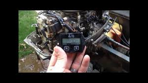 johnson outboard marine motor tachometer hour meter install