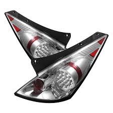 nissan 350z year to year changes amazon com spyder auto nissan 350z chrome led tail light automotive