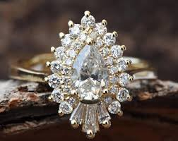 etsy diamond rings images Engagement rings etsy jpg