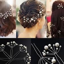 prom accessories 20 pcs cheap handmade pearl wedding hairpins hair sticks