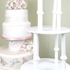 wedding cake accessories tiered cake supports separator plates dowels pillars global