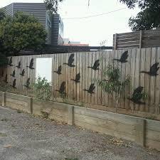gardening quick garden wall art idea stencil spray king kahuna