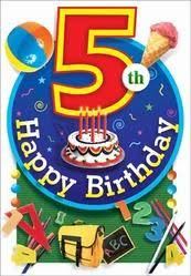 5th birthday birthday greeting cards sewree mumbai reliable