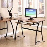 Desk With Top Shelf Work Station Computer Desk With Shelf Nnr International Furniture